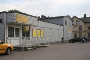 Här hamnat Bergsjös gym. Lagom till höstsäsongens start ska träningssal med maskiner , behandlingsrum och andra faciliteter stå klara hoppas Tomas Östlund.