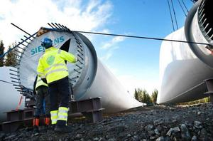 Vindkraftparken i Stamåsen har haft många besök under byggtiden. Vilka bestående jobb som skapas genom vindkraftsutbyggnad ska undersökas närmare i Strömsund framöver.