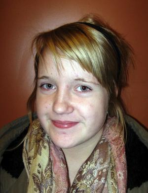 Agnes Nissilä, 14år, Sundsvall: Klättring, fast egentligen tycker jag inte om höga höjder. Det är lite läskigt.