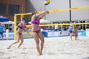 Camilla Nilsson och Tadva Yoken räckte inte till final den här gången.