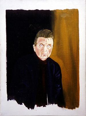 Reginald Grays porträtt av Francis Bacon 1989.