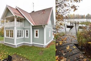 Älvbrosvägen 112 är en tomt vid Dalälven med egen brygga och renoverad villa.