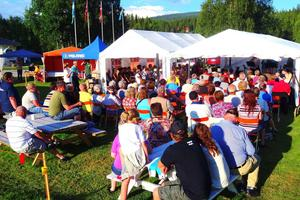 Från en av förra årets Sommarmusik i Frostviken.