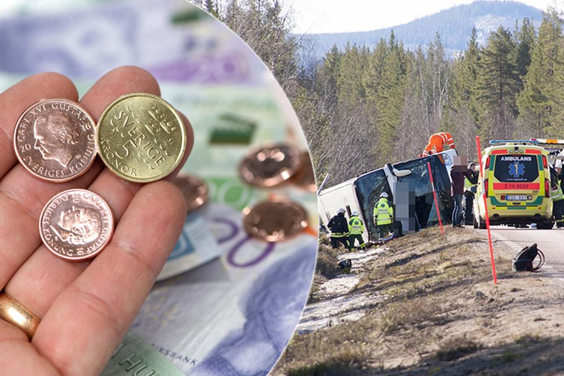Haverikommission granskar bussolyckan