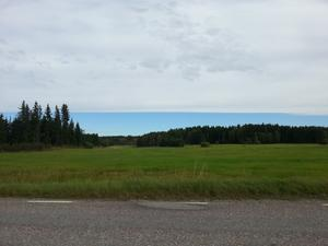 En lördag förmiddag i Virsbo. Såg ut som att de bort mot Ängelsberg hade strålande väder.