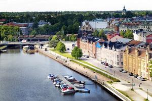 Utsikten från Fullriggaren är imponerande. Och omvänt kommer Gavlegårdarnas 42-metershus vara i blickfånget för tågresenärer som ankommer till Gävle.