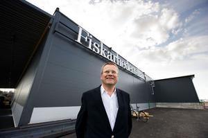Vi går emot trenden och har en bra orderstock. Vår inbrytning i Norge har gått över förväntan, förklarar Gunnar Jönsson på Fiskarhedenvillan i Borlänge.