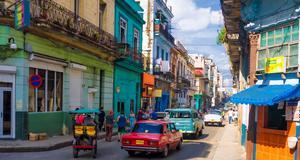 Nu är en bra tid att resa till Kuba. Här Havanna.