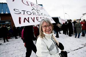 Gunilla Fluur från Västrainitiativet var där.