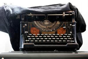 En tvättäkta Underwood från början av 1900-talet. Skrivmaskinen uppfanns redan på 1700-talet, men slog igenom som hjälpmedel på kontoren under 1800-talet.