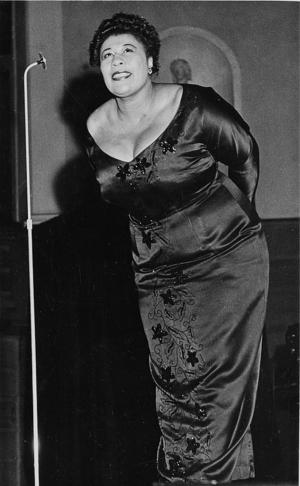 Ella Fitzgerald.