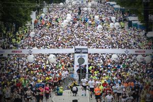 Stockholm Maraton drar runt 17 000 löpare i år.