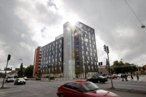 Studentcentrum. Så heter Öbos nya studentbygge i korsningen Rudbecksgatan - Borgmästargatan.