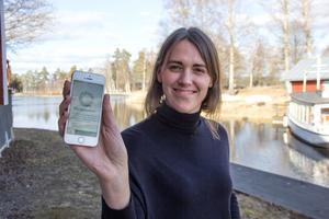 Alma Hanser har jobbat med att uppdatera Husbyringens app till version 2.0. En version 3.0 planeras vara klar någon gång under 2018.