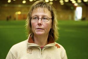 Lotta Linusson från Stockholm är ansvarig för landslaget och utvecklingen av talanger. Foto:Claes Söderberg