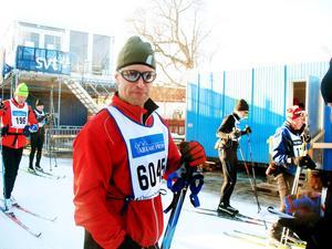– Just nu känns det inte som det blir fler lopp, det var tungt på slutet, sa Peter Andersson från Gävle som konstaterade att 20 träningsmil var för lite.