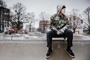 Jack Nylander, initiativtagare till Skatehjälpen som arrangeras av Brädcentralen.