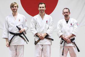 Victor Berglund, Mikael Törn och Christian Carlson.