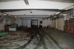 Den stora verkstadshallen på Kvarnmon står nu och väntar på att fyllas med verksamhet.