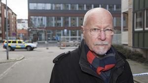 Sven-Erik Alhem, förbundsordförande i Brottsofferjouren, tidigare överåklagare och samhällsdebattör.
