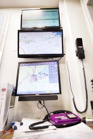 Märkvärdigare än så här ser den inte ut, datorn som Hesa Fredrik aktiveras ifrån.