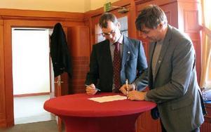 Köpehandlingarna skrevs på i den kungliga vänthallen i stationshuset. Foto: Eva Högkvist