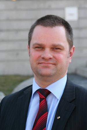 Ny chef. Roger O Nilsson blir ny chef för Division Medicin.