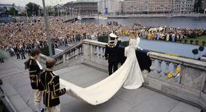 Många ville vara på plats när kungen och drottningen gifte sig 1976. Hur blir det när kronprinsessan Victoria och Daniel gifter sig?