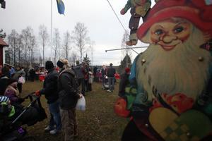 Marknaden i Gnarp brukar locka besökare från Sundsvall till Hudiksvall.