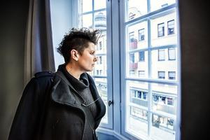 Vad var det som rörde sig i korridoren på Taltidningen? Sara Eklund kände men såg aldrig något.