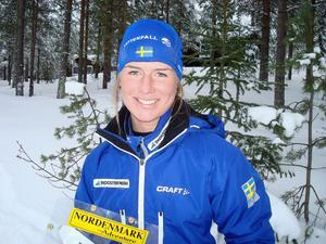 Den framgångsrika fot- och skidorienteraren Josefine Engström från Alfta får årets idrottsstipendium.
