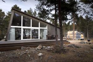 De nya husen är snart en egen del av Hölicks campingområde.