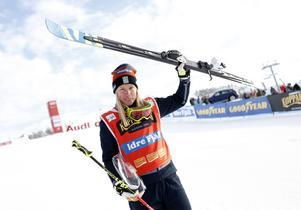 Trots avsaknaden av Anna Holmlund har Sandra Näslund lyckats fokusera och gjort sin bästa säsong hittills i karriären.