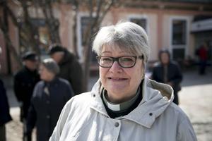 Marianne Kronberg är diakon vid Siljansnäs församling och såg det som självklart att delta i manifestationen.