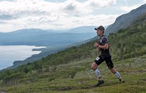 Andreas Svanebo, under en upplaga av Axa Fjällmaraton.