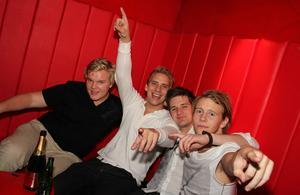 Silk. Magnan, Mattias, Erik och Fredrik
