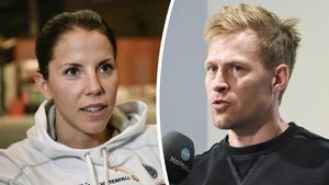 Charlotte Kalla har drabbats av hjärtfel, precis som sin sambo Anders Svanebo haft sedan tidigare.