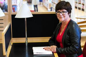 Karin Tegenborg Falkdalen, författare.