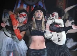 """Britney Spears har hämtat sig från alla skandaler och gör nu comeback med turnén """"Circus tour""""."""
