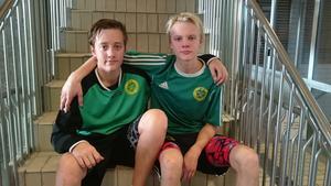 Niels Herrman och Hampus Moberg.