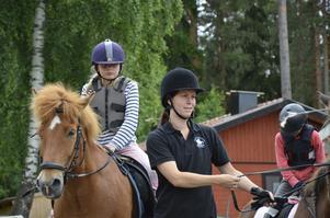 Företagare. Johanna Klockars startade upp Klockarsgården i augusti förra året.