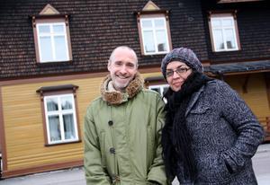 Nya stationsägare. Hector Lerner och Janina Lopez startar utbildningscenter i Norrsundet.