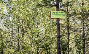 Beowulf Minings provbrytningar i Kallak väster om Jokkmokk mötte kraftiga protester sommaren 2013.