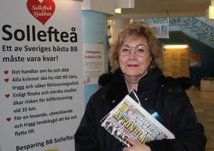 Ewa Söderberg är inte förvånad att hennes gamla partikamrater från Medelpad vill skära ner i Sollefteå.