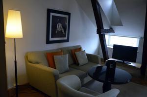 Tornsviten på Elite Hotel Knaust. I ett av tornen på Knausthuset finns Tornsviten.