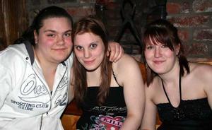 Konrad. Bea, Sandra och Teddy