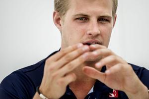 Måste ha känsla i handen. Marcus Ericsson testar en ny startteknik i Spaniens GP.
