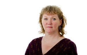 Marita Johansen, en av invånarna i Superbyn Järnboås.