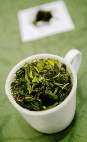 Det gröna teet sägs vara en av de mer hälsosamma tetyperna.