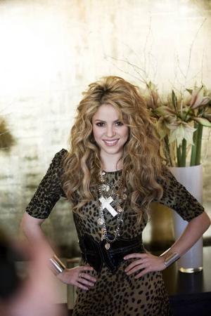 Varghona. Shakira besökte Stockholm för att prata om sin nya skiva